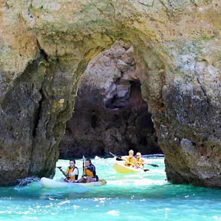 Ezride kayaking