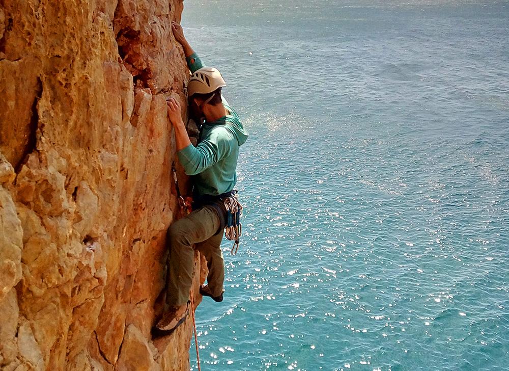 rock climbing algarve