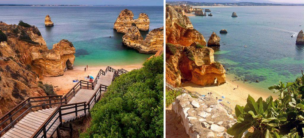 Praia do Camilo Lagos Portugal