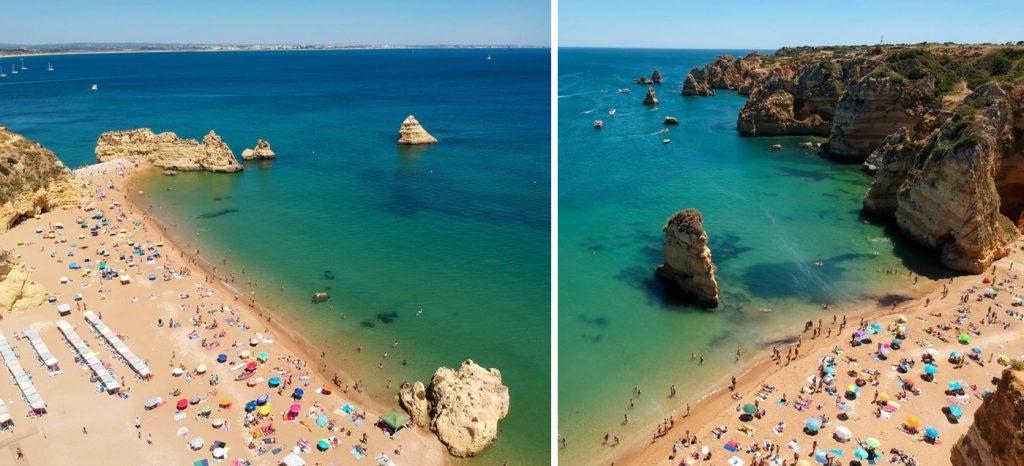 Praia Dona Ana Lagos Portugal